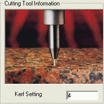 Nesting and Optimization Software  - PLUS 2D : Kerf Setting in Metal Cutting