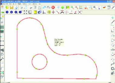 PLUS Replicam : DigitizingSoftware - Traced template with hole
