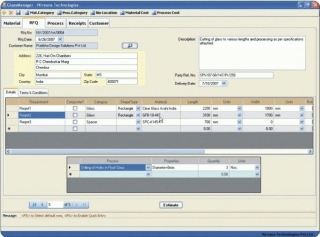 Order Processing and Inventory Management Software - PLUS Glass Manager
